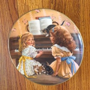 Afternoon recital collector plate